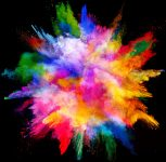 Explosion of color. Jigsaw Puzzle