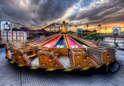 Fairground Ride Jigsaw Puzzle