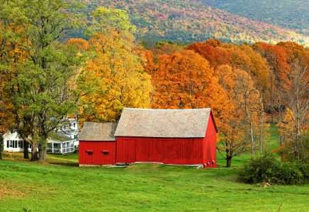 Fall Barn Jigsaw Puzzle