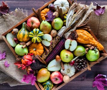 Fall Fruits Box Jigsaw Puzzle
