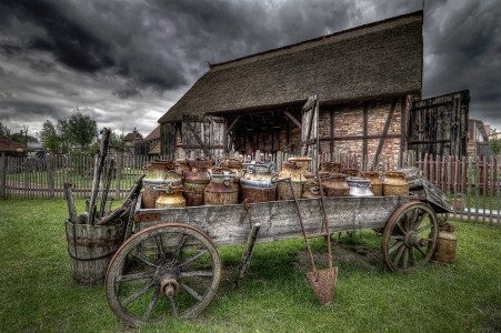 Farm Wagon Jigsaw Puzzle