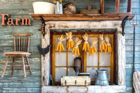 Farmhouse Window Jigsaw Puzzle