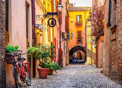 Ferrara Street Jigsaw Puzzle