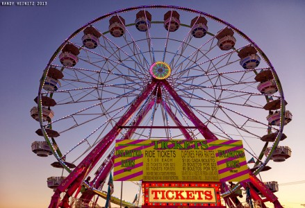 Ferris Wheel Tickets Jigsaw Puzzle