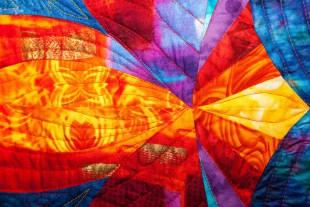 Fiery Quilt Jigsaw Puzzle