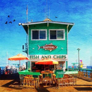 Fish and Chips Jigsaw Puzzle