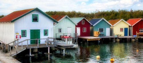 Fisherman Cabins Jigsaw Puzzle