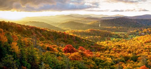 Flat Rock Overlook Jigsaw Puzzle