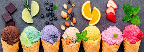 Flavors of Ice Cream Jigsaw Puzzle