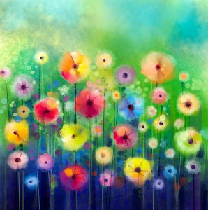 Floral Watercolor Jigsaw Puzzle