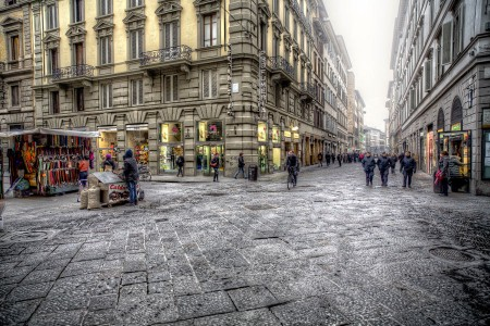 Florence Street Jigsaw Puzzle