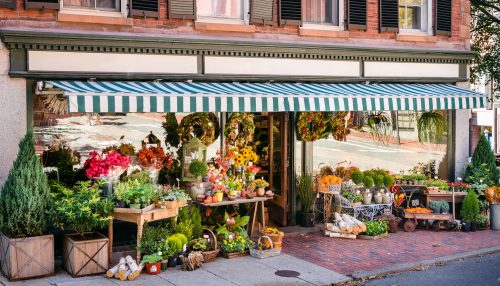 Florist Shop Jigsaw Puzzle