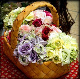 Flower Basket Jigsaw Puzzle