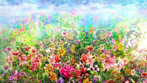 Flower Patch Jigsaw Puzzle