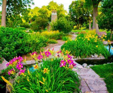 Flower Path Jigsaw Puzzle