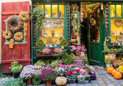 Flower Shop Jigsaw Puzzle