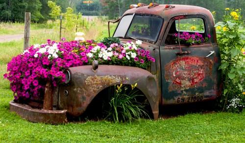 Flower Truck Jigsaw Puzzle