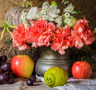 Flowers and Fruit Jigsaw Puzzle