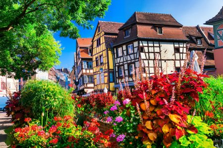 Flowers in Colmar Jigsaw Puzzle