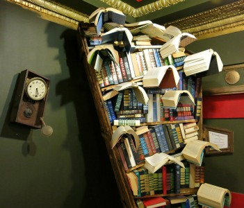 Flying Books Jigsaw Puzzle
