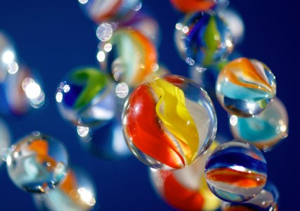 Flying Marbles Jigsaw Puzzle