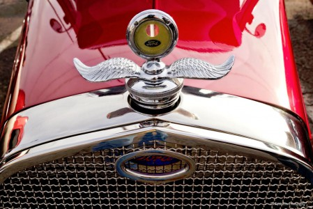 Ford Hood Ornament Jigsaw Puzzle