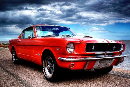 Ford Mustang Jigsaw Puzzle