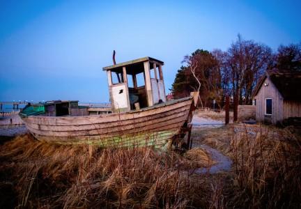 Forgotten Fishing Boat Jigsaw Puzzle
