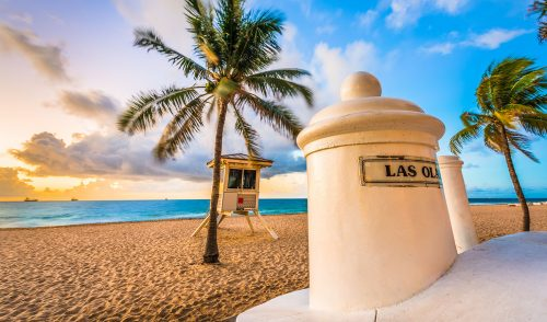 Fort Lauderdale Beach Jigsaw Puzzle