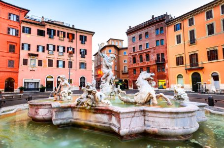 Fountain of Neptune Jigsaw Puzzle
