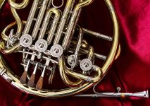 French Horn Close-Up