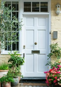 Front Door in London Jigsaw Puzzle