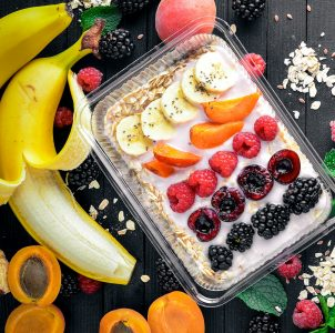 Fruit and Oatmeal Jigsaw Puzzle