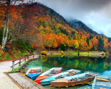 Fusine Lake Jigsaw Puzzle