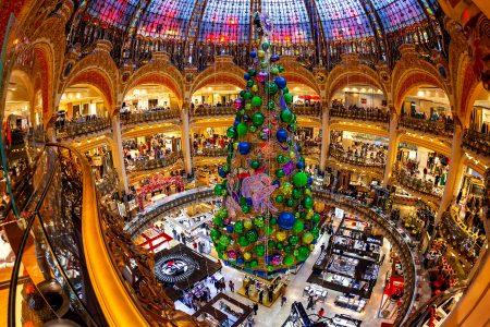 Galeries Lafayette Christmas Jigsaw Puzzle