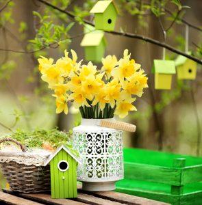 Garden Birdhouses Jigsaw Puzzle