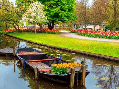 Garden Canal Jigsaw Puzzle