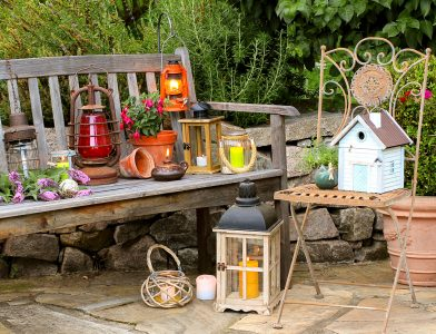 Garden Candles Jigsaw Puzzle
