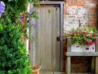 Garden Door Jigsaw Puzzle