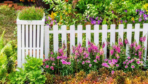 Garden Fence Jigsaw Puzzle