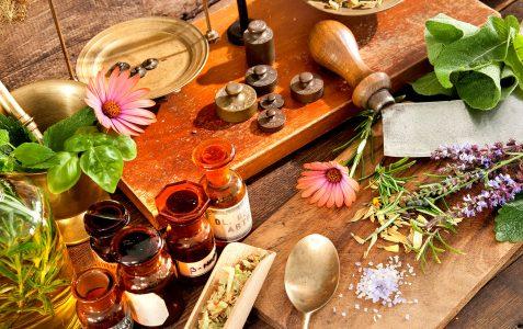 Garden Medicine Jigsaw Puzzle