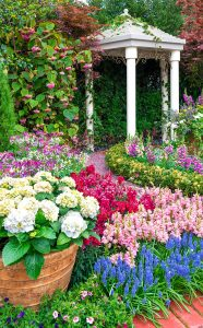 Garden Pavilion Jigsaw Puzzle