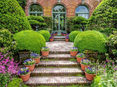 Garden Steps Jigsaw Puzzle