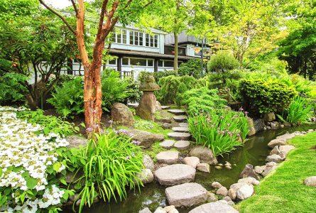 Garden Stream Jigsaw Puzzle