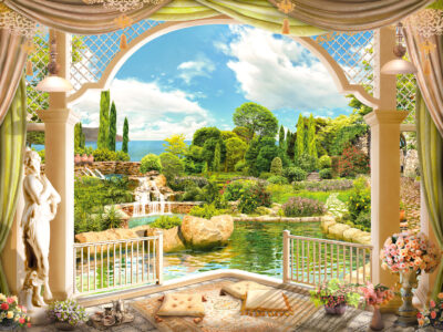 Garden Terrace Jigsaw Puzzle