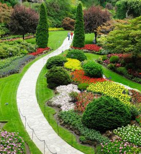 Garden Walk Jigsaw Puzzle