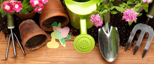Gardener's Tools Jigsaw Puzzle
