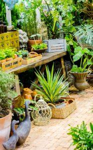 Gardening Bench Jigsaw Puzzle