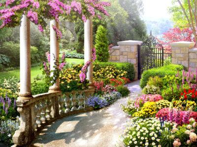 Gated Garden Jigsaw Puzzle