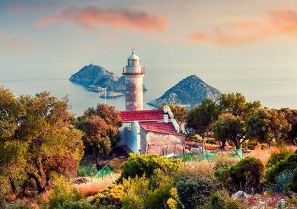 Gelidonya Lighthouse Jigsaw Puzzle